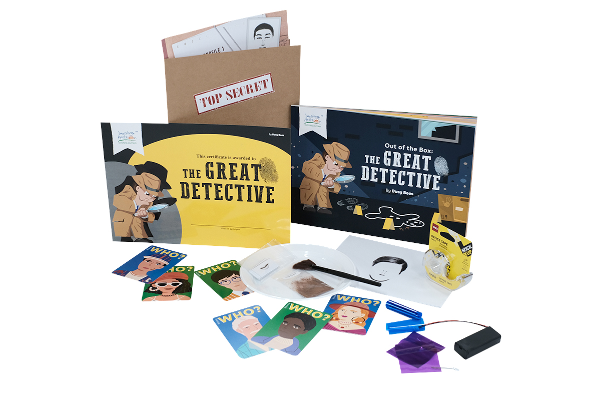 The Great Detective Material