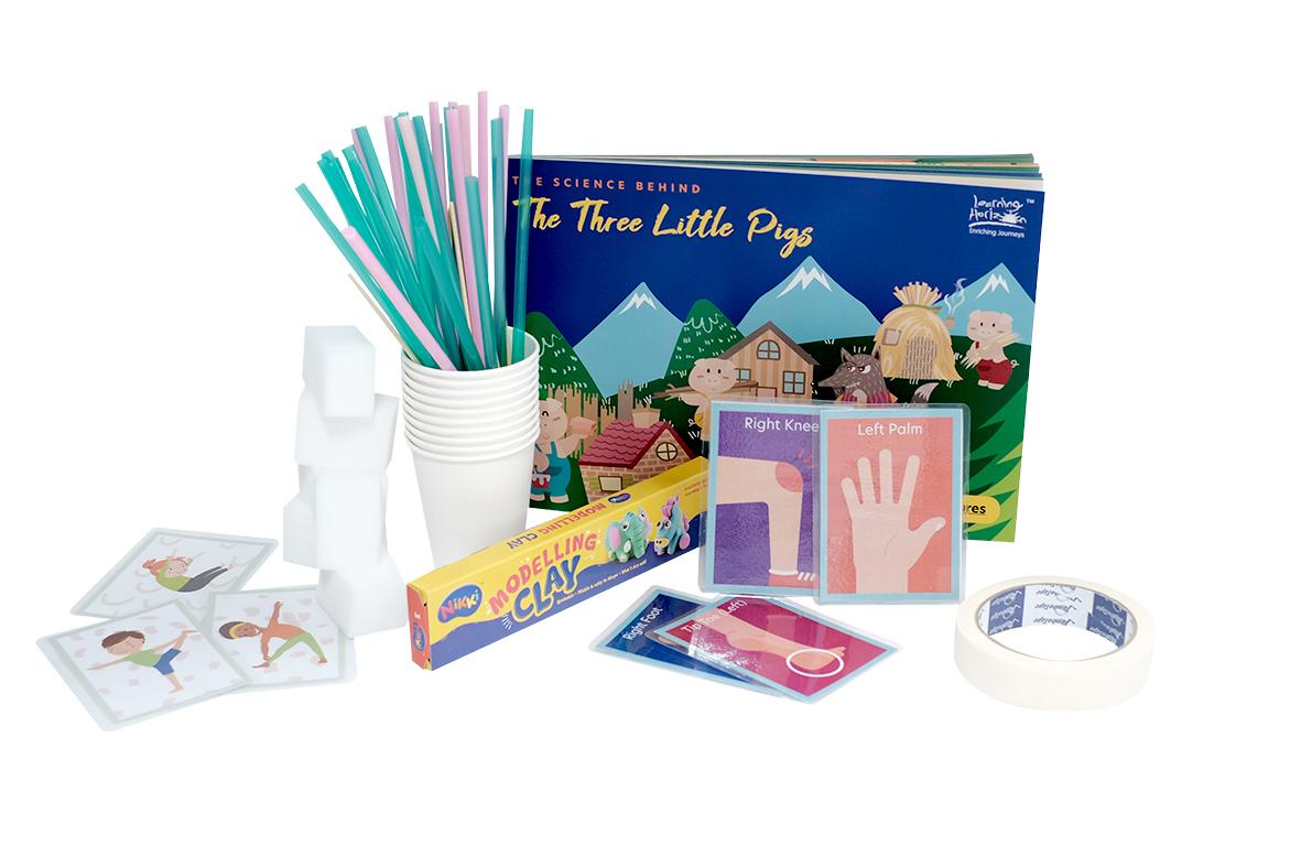 Three Little Pigs Materials