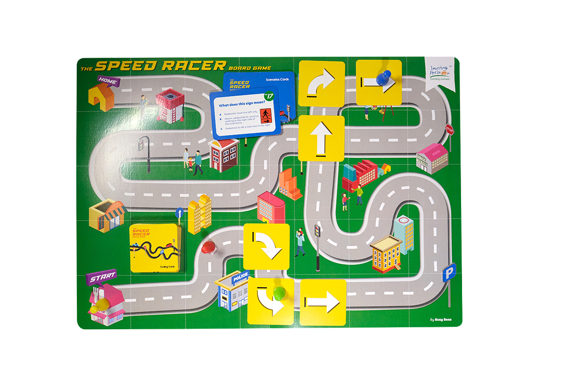 Speed Racer Board Game
